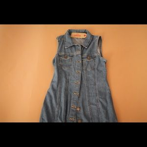 Levi's Denim Dress NWT